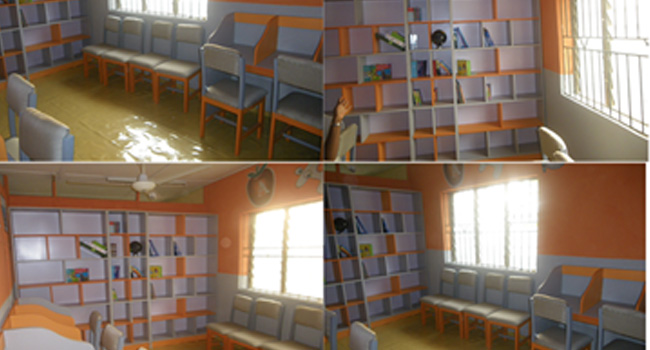 HOME OF GOD'S GRACE MISSION ORPHANAGE LIBRARY